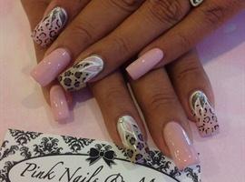 Neutral and Pink Cheetah