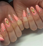 peachy gold