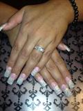 Glitter Pink & White