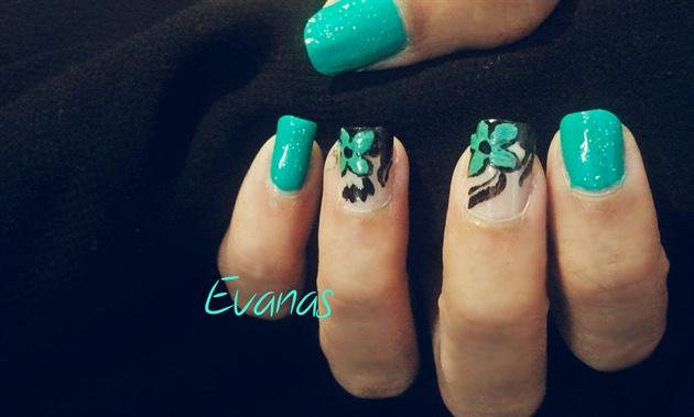Turquoise flora