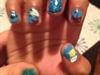 Nail Art Wok Done By Me