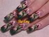 one stroke flower(mano alzada)