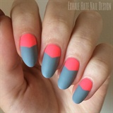 Matte Grey & Neon
