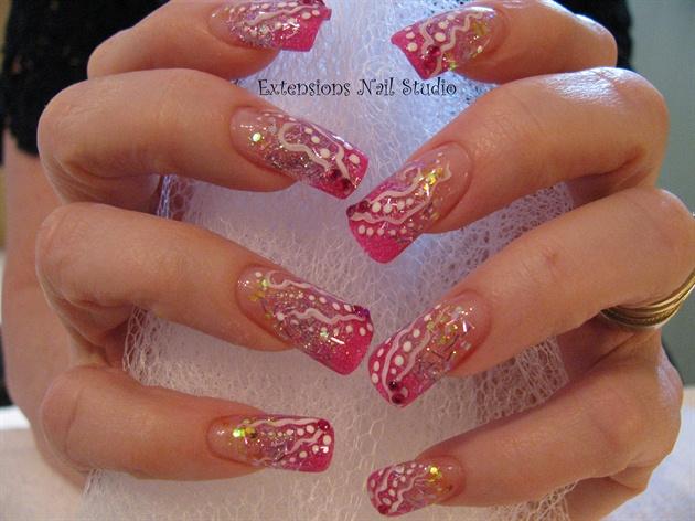 crinkle pink