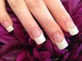 White gel tips