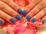 Blue ezflow gel