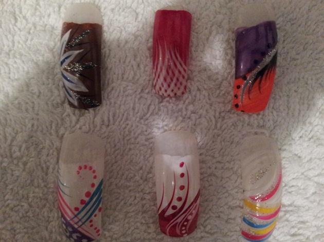 total nail  art