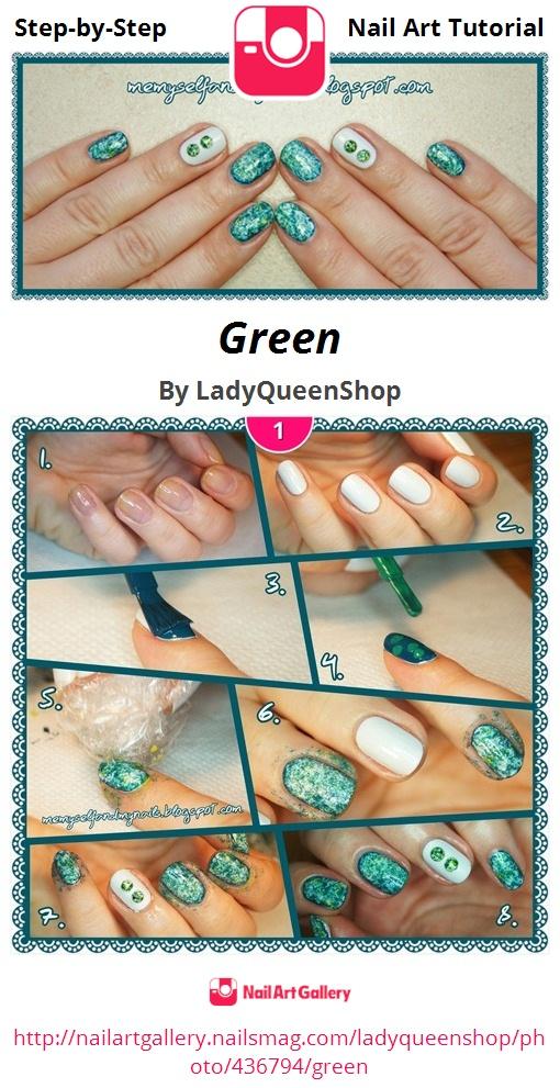 Green - Nail Art Gallery