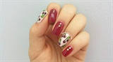Vintage Cherry Nails