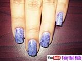 Drag Marble Nail Art