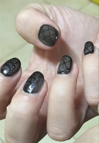 Black Lace Shellac