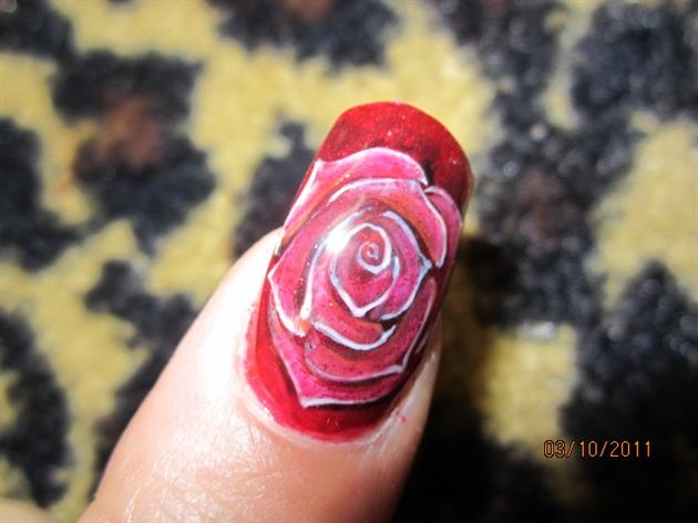 Gelish rose a la G. Gonzalez