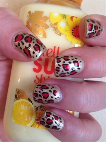 Cheetah Print (short nails)