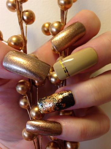 """Trademark"" Nail Design By Fleur De Lis"