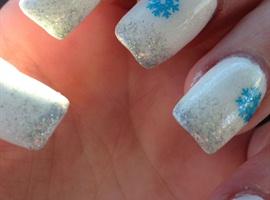 Snowflakes Close Up