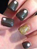 Christmas Nails For Short Nails Neutral