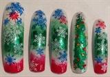 Divalicious Christmas Nails