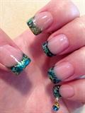Mermaid Nails & Nail Piercing