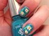 Spring Daffodils Short Nails