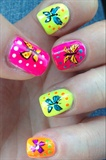 Butterflies In My Tummy By Fdlnails.com