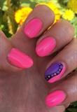 Neon Pink Swirl