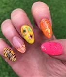 Crazy Wild Summer Nails