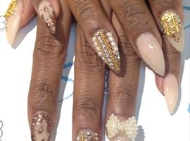 nail art: Nudy