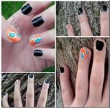 Short Tribal Nails