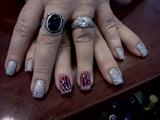 Extentd Glitter Fingers