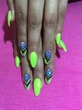 Acrylic Nails Nail Art