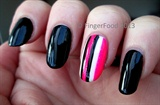 Striped accent