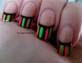 Neon Striped French