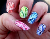 Zebra Gradient Skittles