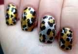 Glitzy Leopard