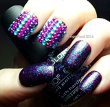 #31NAILS2014 March Day 3 - Glitter