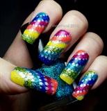Glitter Rainbow