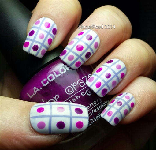 NAILS 31DC - Purple