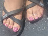 Rock Star pink w/Shellac