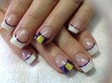Cross fit nail design