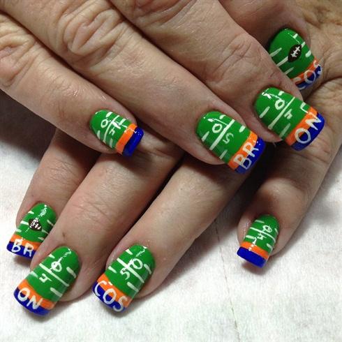 Bronco nail design - Bronco Nail Design - Nail Art Gallery