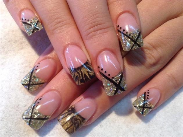 Danielle\u0027s Vegas Nail Design by fingernailjunky
