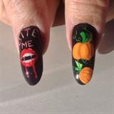 Halloween Nails(thumbs)