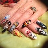 Crazy Halloween Nails