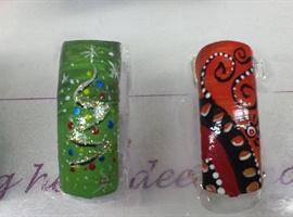 nail art: christmas is coming soon ;-)