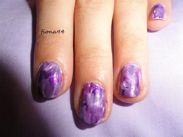 purple camouflage.
