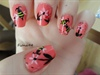 Cute Bee Nails