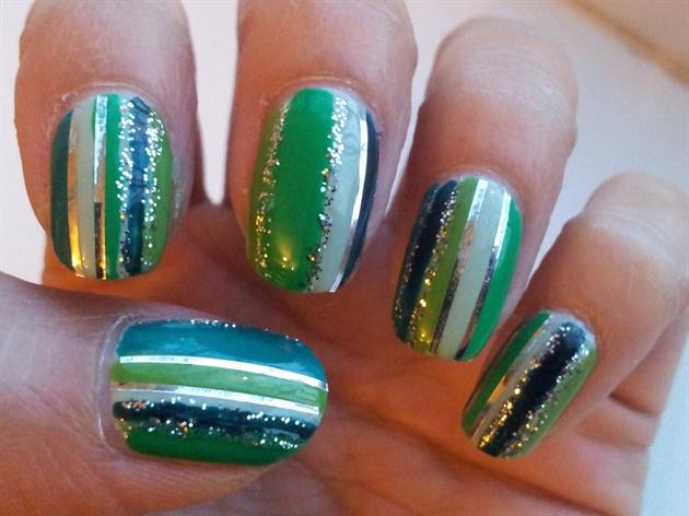 Green stripes (inspired by Tartofraises)