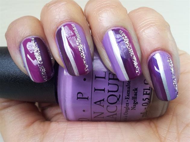 Purple Stripes