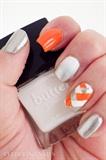 Bold Orange and Silver Fishtail