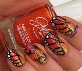 Textured Butterflies